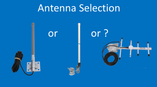 Select the correct antenna