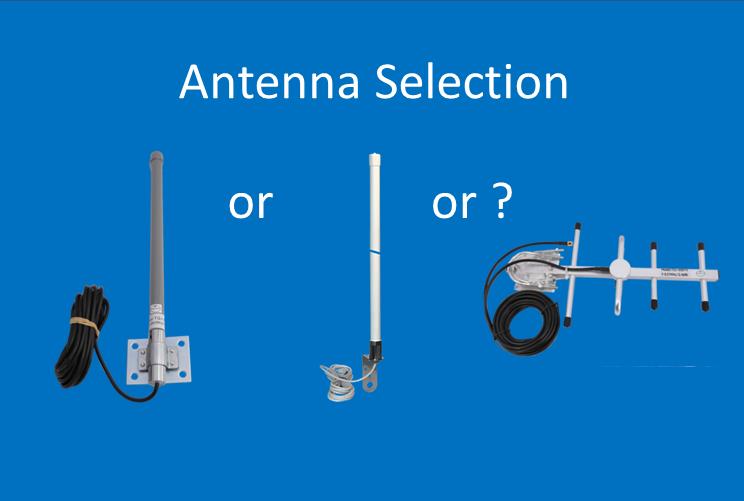 Select the correct antenna